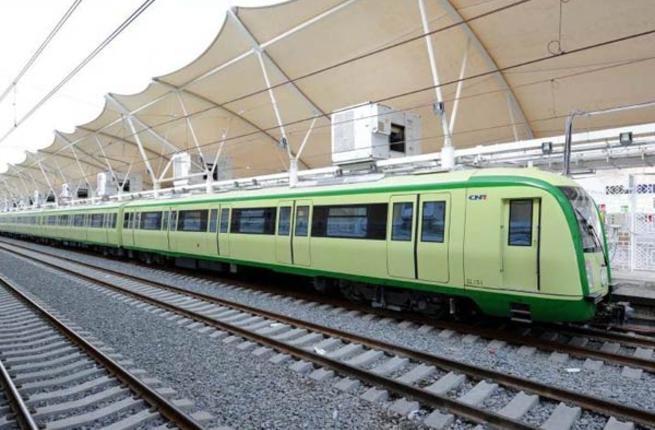 أول قطار كهربائي سريع على مستوى المنطقة سعودى مكة المكرمة، جدة، مطار الملك عبد العزيز الدولي، مدينة الملك عبد الله الاقتصادية ، والمدينة المنورة